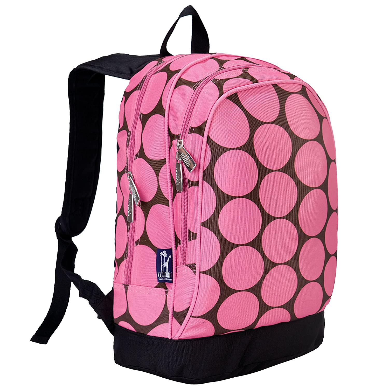 Big Dots Pink Peace Signs Purple Sidekick Backpack
