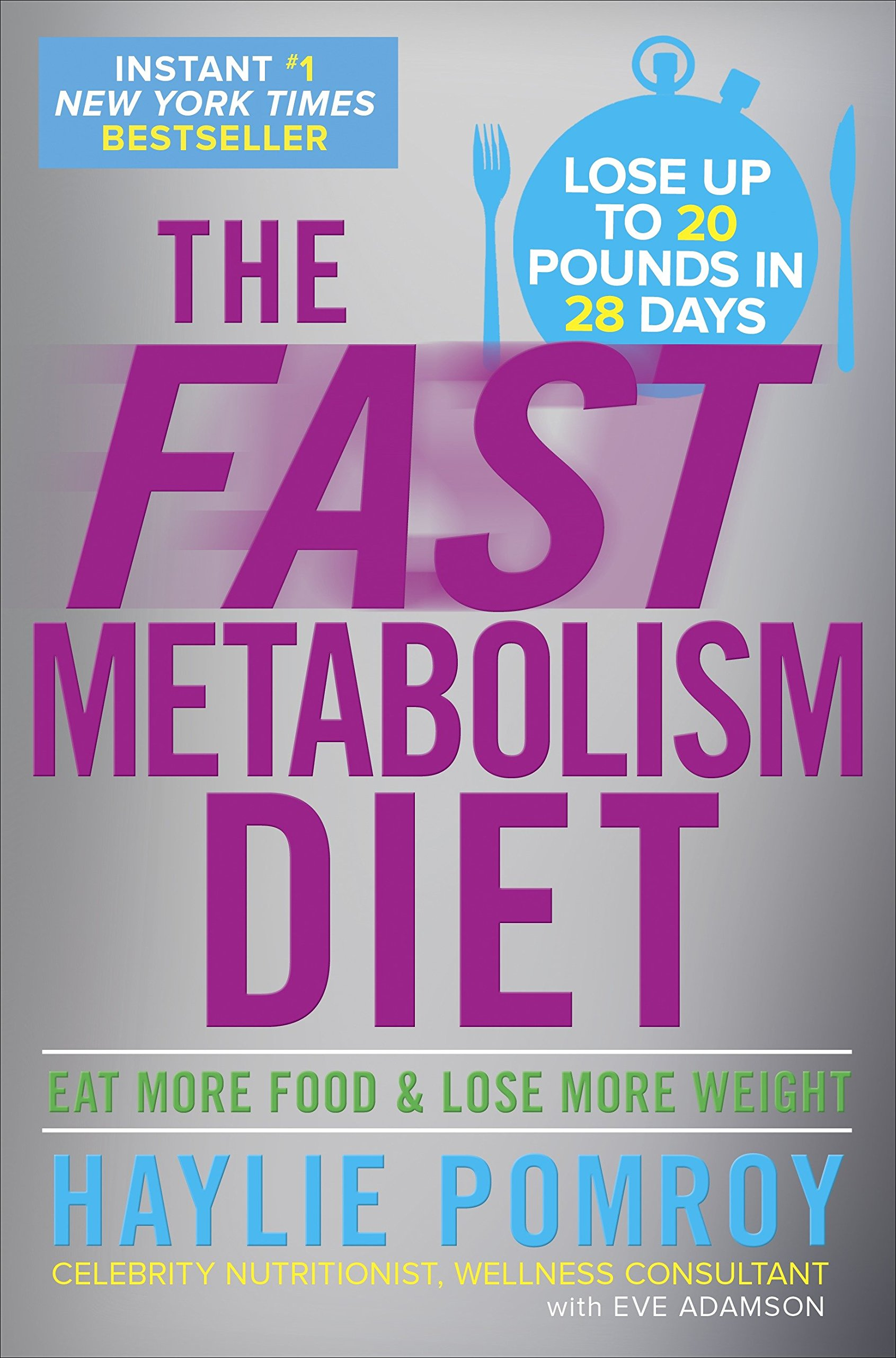 The Fast Metabolism Diet: Eat More Food and Lose More Weight by Harmony