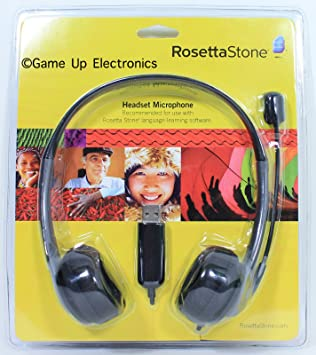 rosetta stone headset does not work on mac