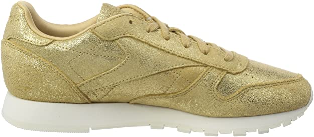 Classic Leather Shimmer Trainers