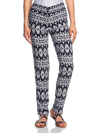 oodji Ultra Femme Pantalon Léger Imprimé  Amazon.fr  Vêtements et ... 317606ec2ea