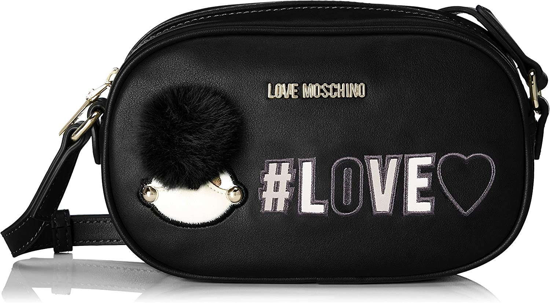 Love Moschino Borsa Embossed Pu Rosso Red B x H T 24x26x14 cm Women/'s Satchel Rot