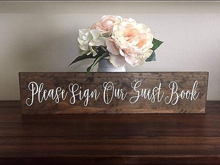 Prz0vprz0v Cartel rústico de Boda con Texto en inglés «Just ...