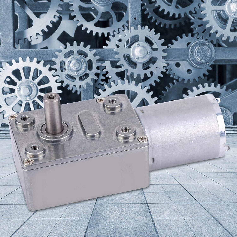 Motor de gusano, Motor de reducción de gusano de torsión grande Motor de velocidad CC de tipo micro, para la industria(100RPM)