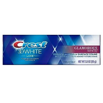 Amazon Com Crest 3d White Luxe Glamorous Toothpaste Vibrant Mint
