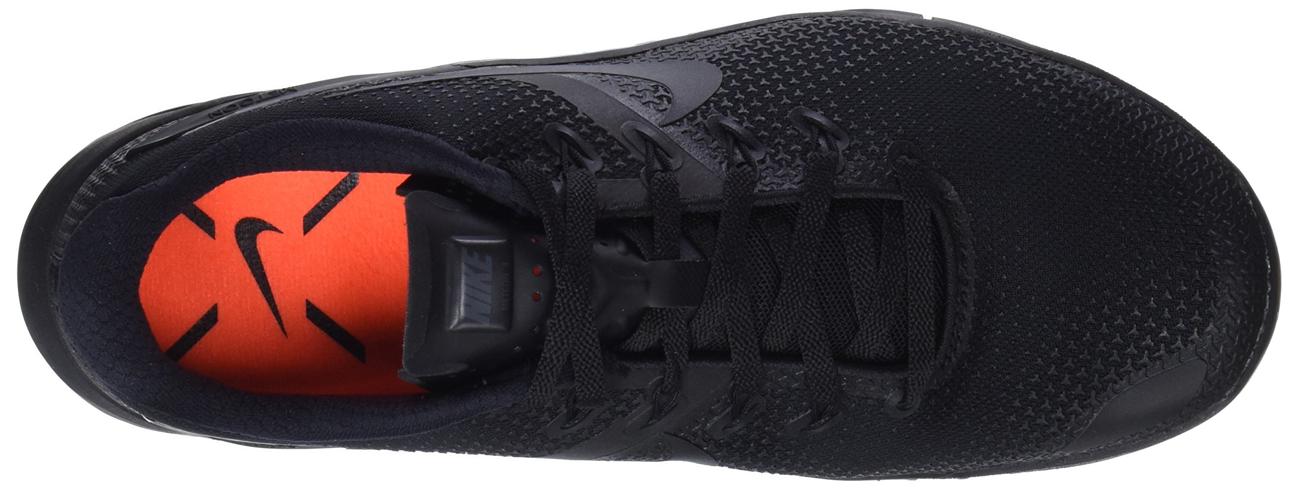Nike Men's Metcon 4 Training Shoe Black/Black-Black-Hyper Crimson 7.5 by Nike (Image #7)