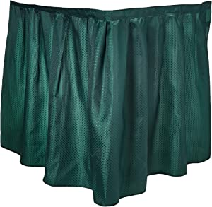 Carnation Home Fashions Lauren Dobby Fabric Sink Skirt, 56-Inch by 32-Inch, Evergreen