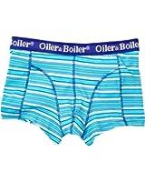 Oiler & Boiler Nantucket Deckchair Stripe Blue Short Without Fly Men's Boxers