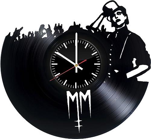 Marilyn Manson Vinyl Record Wall Clock