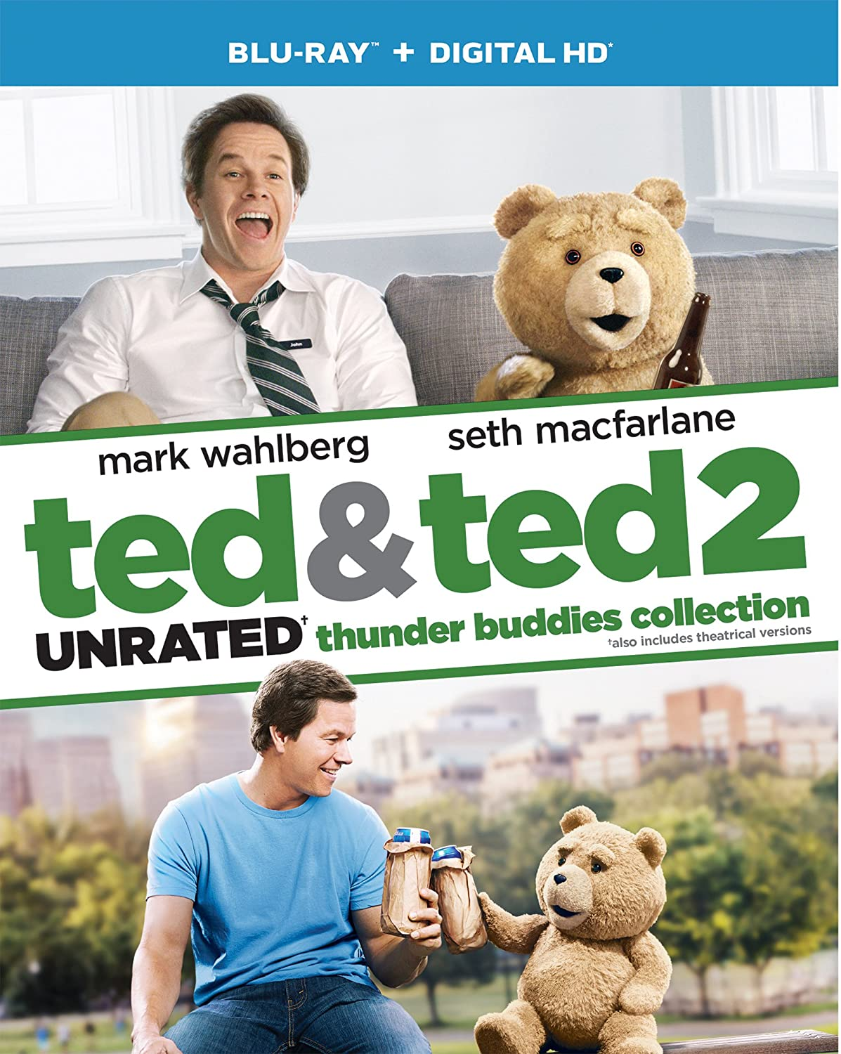 Ted & Ted 2 Thunder Buddies Collection [Blu-ray]