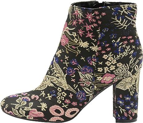 Dolcis Florine Textile Ankle Boots