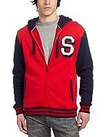 Southpole Men's Baseball Full Zip Fleece