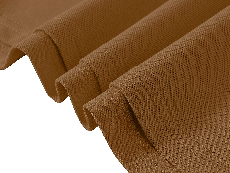 MoFiz Men's Golf Shirts Short Sleeve Shirts 100% Cotton Athletic Shirts Collared T-Shirt Comfortable Polo Shirts: Clothing