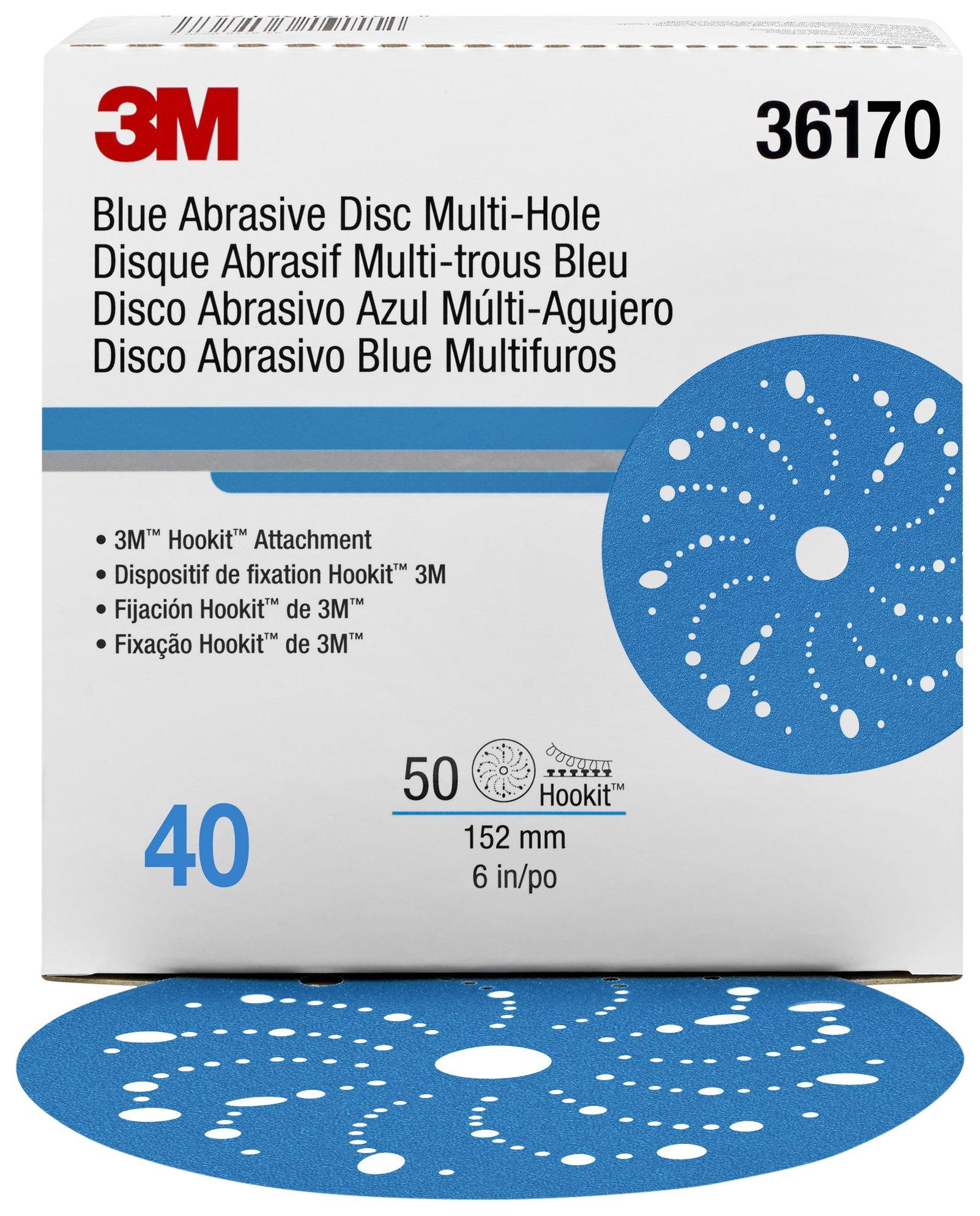 Hookit 36170 Blue Abrasive Disc by Hookit