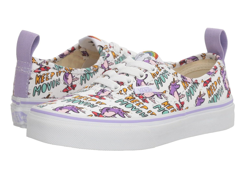 Vans Kids Authentic Elastic (Elastic Lace) Skate Shoe B01ICIR130 12.5 Little Kid M|(Dallas Clayton) Skating Unicorns/True White