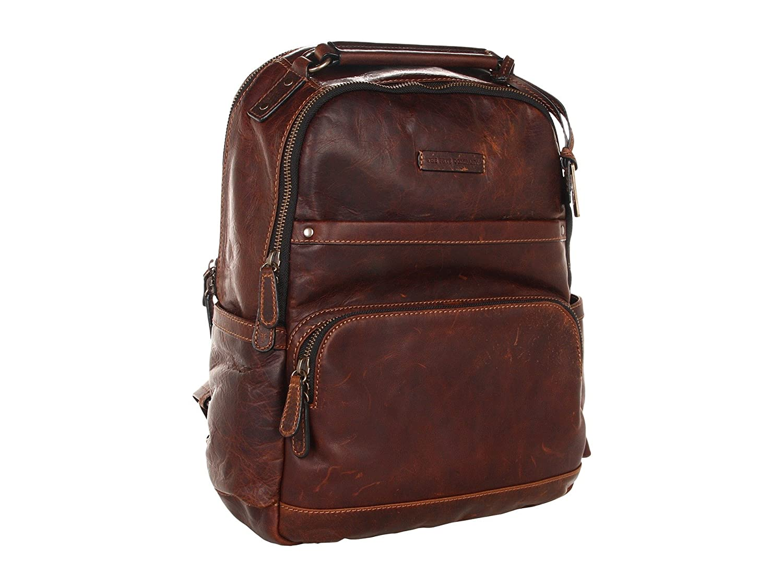 (フライ) FRYE Men`s Logan Backpack Dark Brown メンズローガンバックパックダークブラウン(並行輸入品) B07B66Y2M2 ダークブラウン One Size