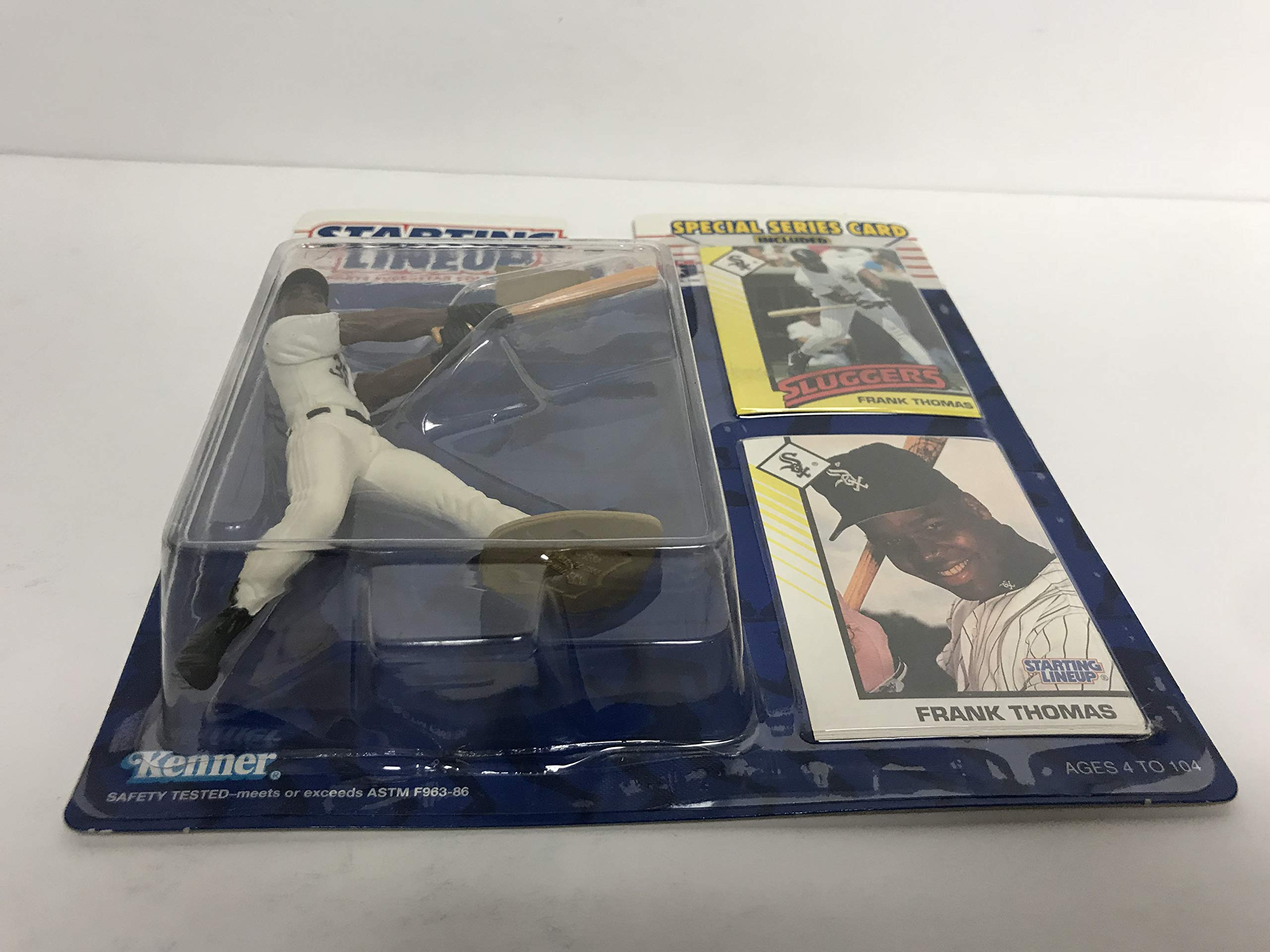 1993 Frank Thomas Chicago White Sox MLB Baseball Action Figure with Collectible Trading Cards