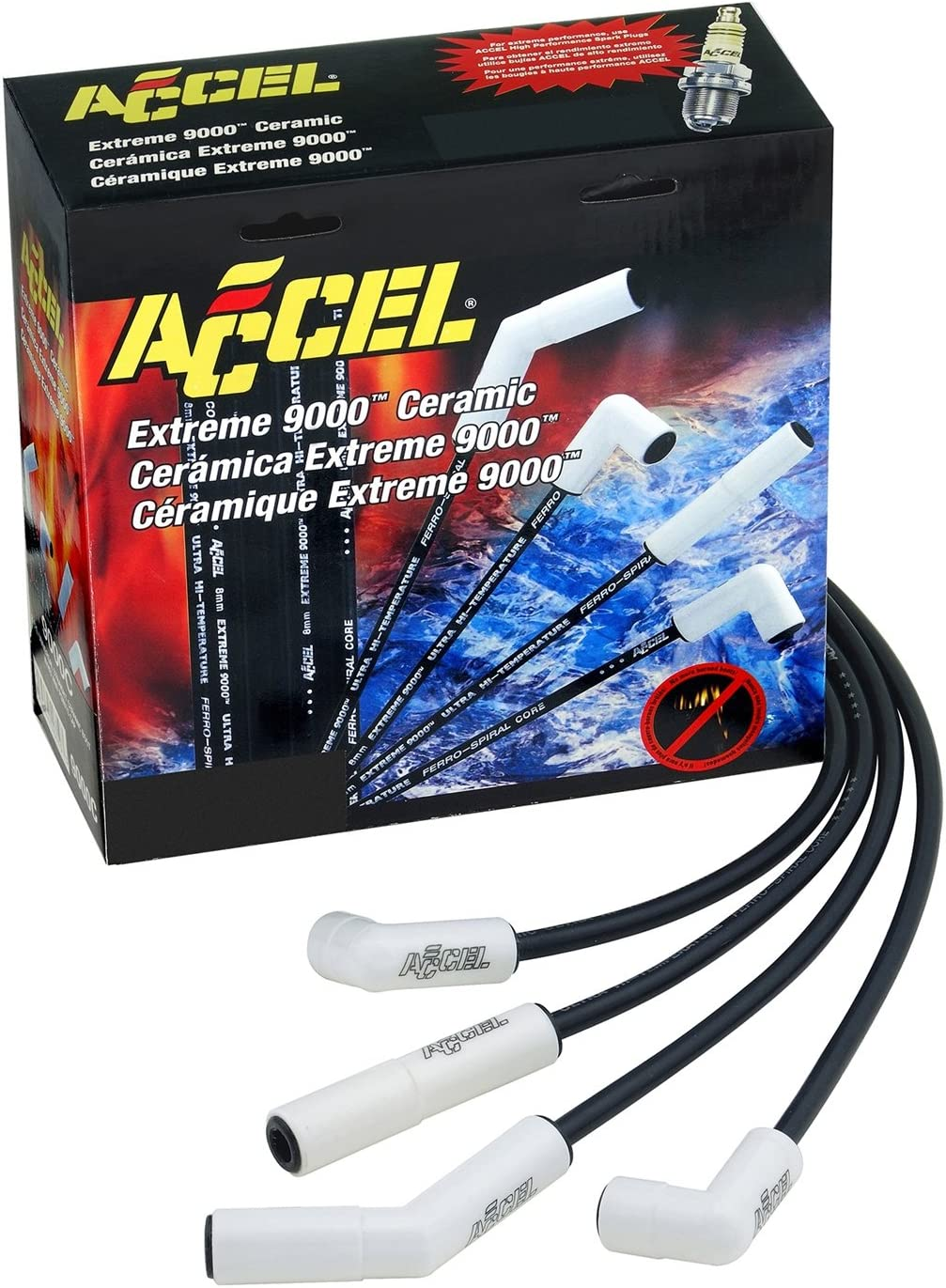 Amazon.com: Accel Spark Plug Wire Set Gm Bb 396-502 Hei: Automotive