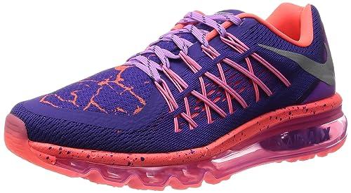 official photos fd1ab 1afcd Nike Air MAX 2015 Lava (GS), Zapatillas de Running para Niñas, Morado