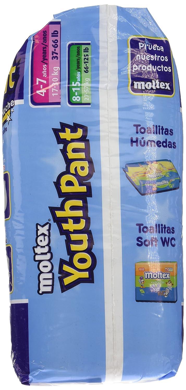 Moltex Youth Pants Bolsa de Braguitas de Noche - 15 Braguitas: Amazon.es: Belleza