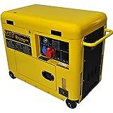Générateur de courant 6 kw Diesel silencieux - Groupe électrogène - Démarrage électrique