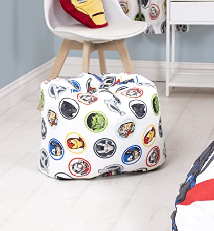 Excellent Marvel Avengers Strong Childrens Bean Bag Chair Multi Colour 52 X 52 X 38 Cm Gmtry Best Dining Table And Chair Ideas Images Gmtryco