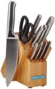 KitchenAid Clasic Forg 12PC BrushSS Cutly