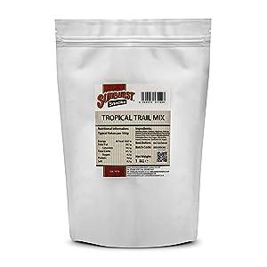 Sunburst Snacks Raw Tropical Mix Of Nuts & Dried Fruit 1kg