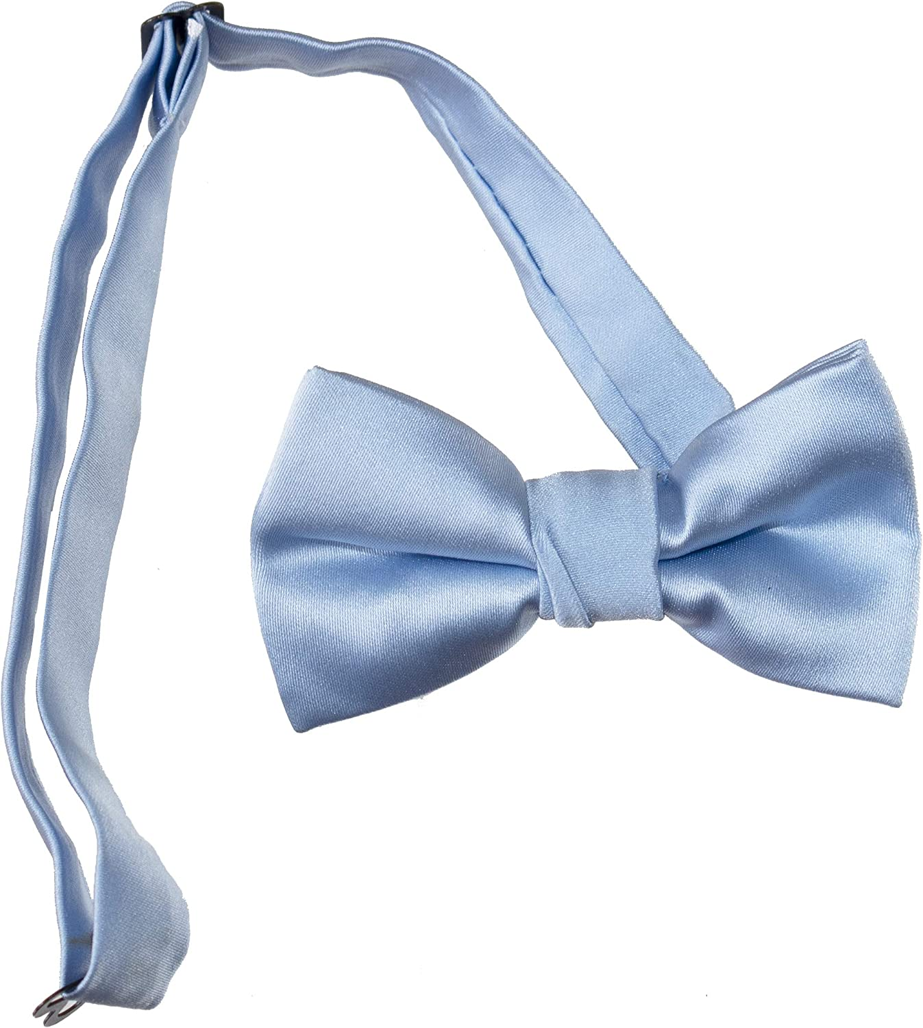 Tuxgear Mens Pre-tied Adjustable Bow Ties for Kids and Adults in Several Colors