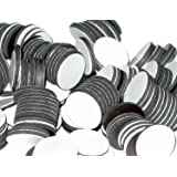 """BYKES Magnets 3/4"""" Round Disc with Adhesive Backing - 200 Pcs"""