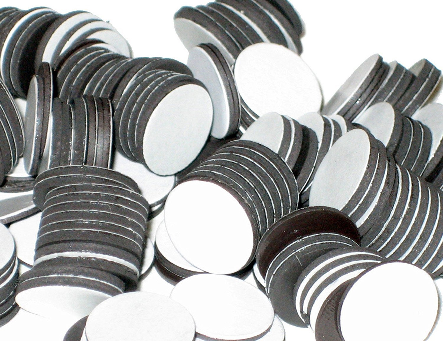 BYKES Magnets 3/4 Round Disc with Adhesive Backing - 200 Pcs BYKES Technologies® AH2