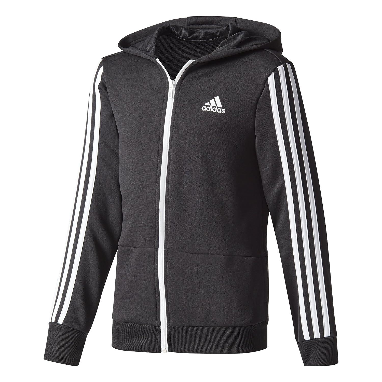 adidas Veste à Capuche Gear Up, Fermeture éclair sur Toute la Longueur, pour garçons ADIL0|#adidas CE5877