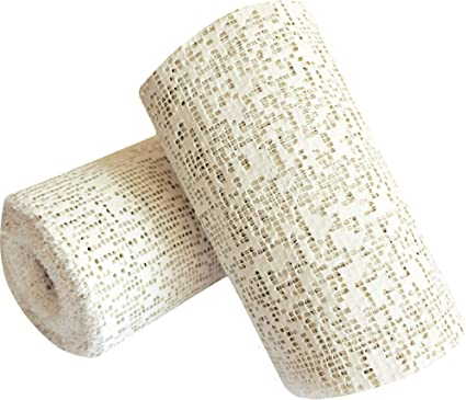 """PLASTER HOBBY CASTING CLOTH   4/"""" X 15/' FAST FREE SHIP! 10 rolls for  $34"""