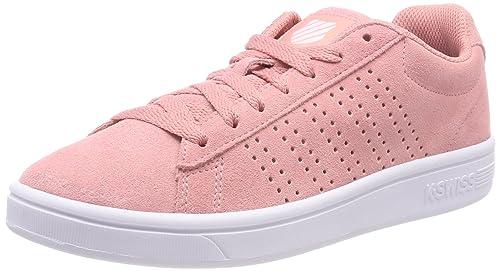 K-Swiss Court Casper SDE, Zapatillas para Mujer, Rosa (Peaches N' Cream/Wht 657), 41 EU