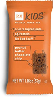 product image for RXBAR, RX Kids Protein Snack Bar, Peanut Butter Chocolate Chip, 1.16oz Bars, 30ct, New Taste and Texture