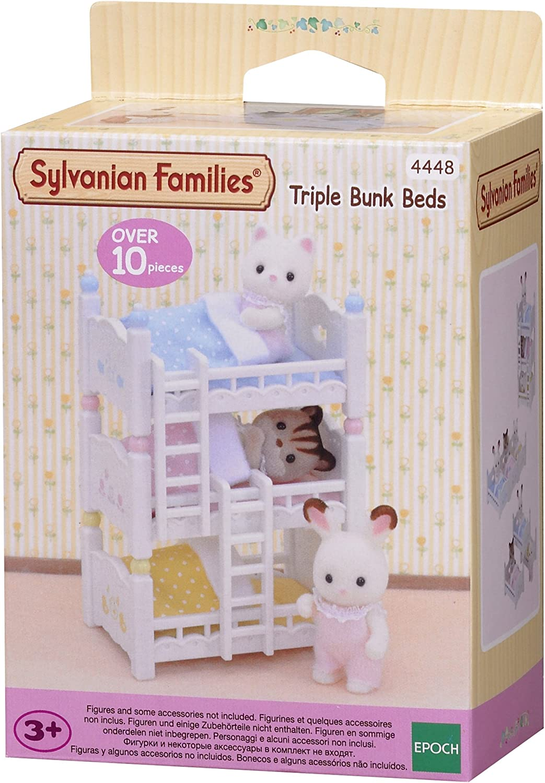 Sylvanian Families- Triple literas (Epoch para Imaginar 4448) , color/modelo surtido