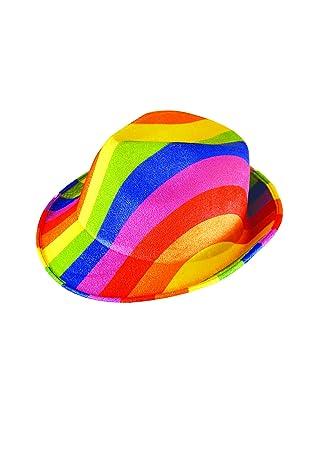 Rainbow Accessories Sash Hat Gay Pride Fancy Dress Costume Sequin Cap Festival