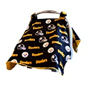 Baby Fanatic Car Seat Canopy, Pittsburgh Steelers