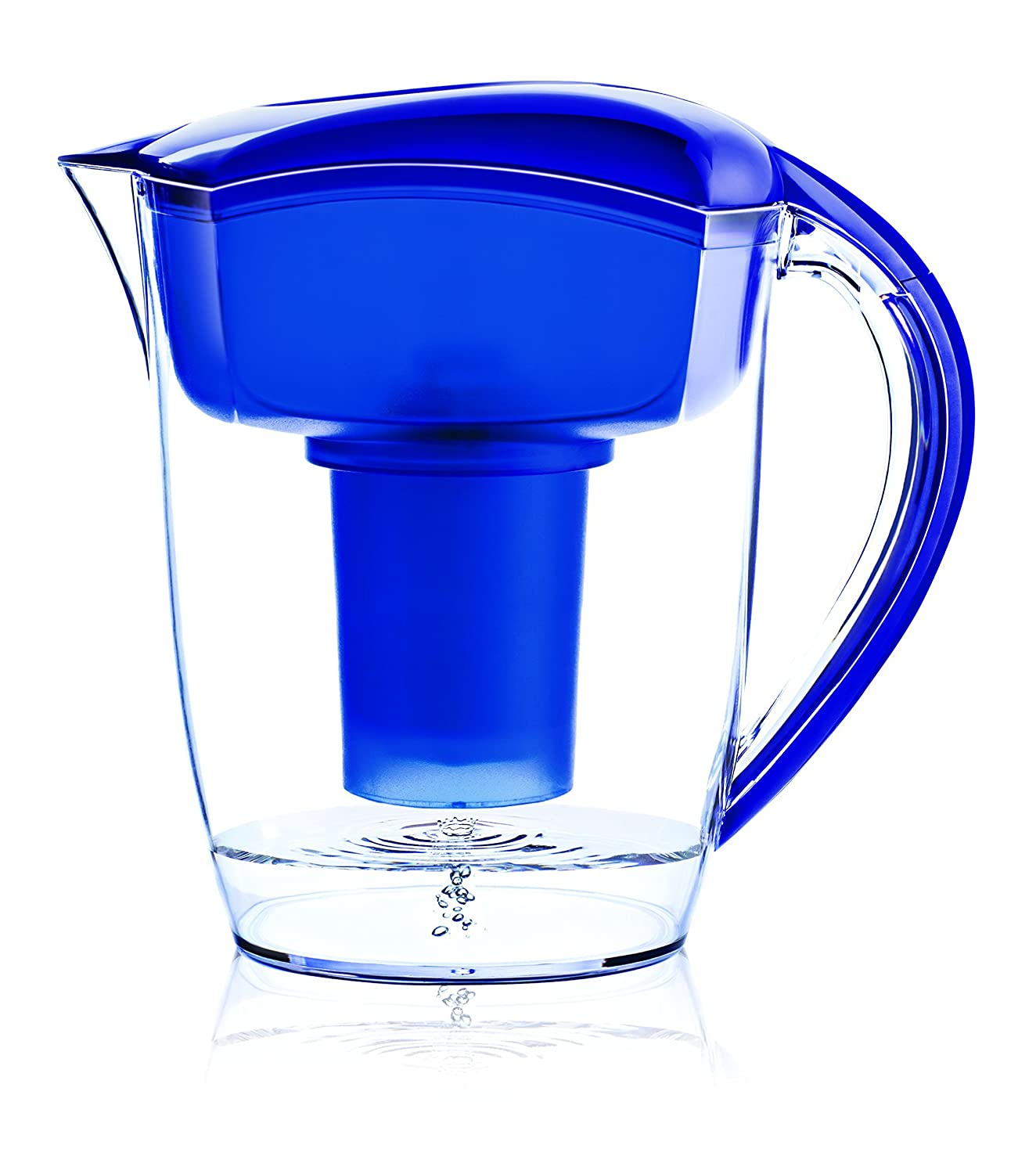 amazon com santevia water systems alkaline water pitcher blue
