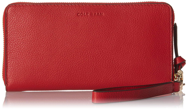 Barbados Cherry Cole Haan Piper Zip Around Wallet Wristlet