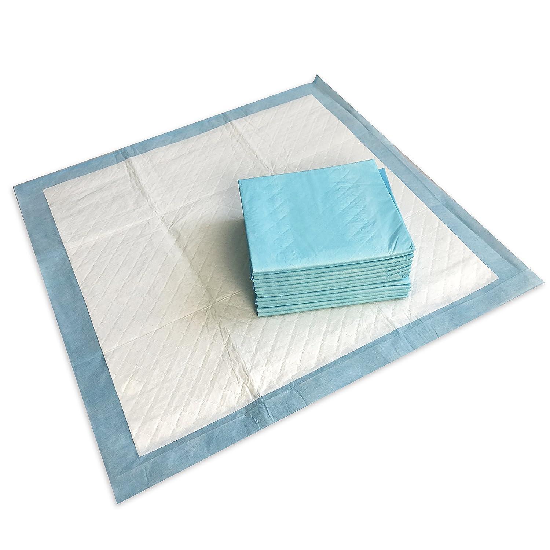 Almohadillas de entrenamiento PrincePaws para cachorros: almohadillas de orina para perros de 100 unidades con cinta, grandes 24 x 24, orinal para mascotas, ...