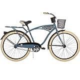 26-inch Huffy Deluxe Men's' Cruiser Bike, Blue