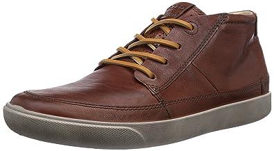 timeless design da4bf 50244 Ecco Gary Cognac Wrangler Herren Hohe Sneakers