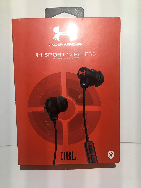Virus Cuyo misil  Amazon.com: JBL Under Armour Sport - Auriculares inalámbricos: Home Audio &  Theater