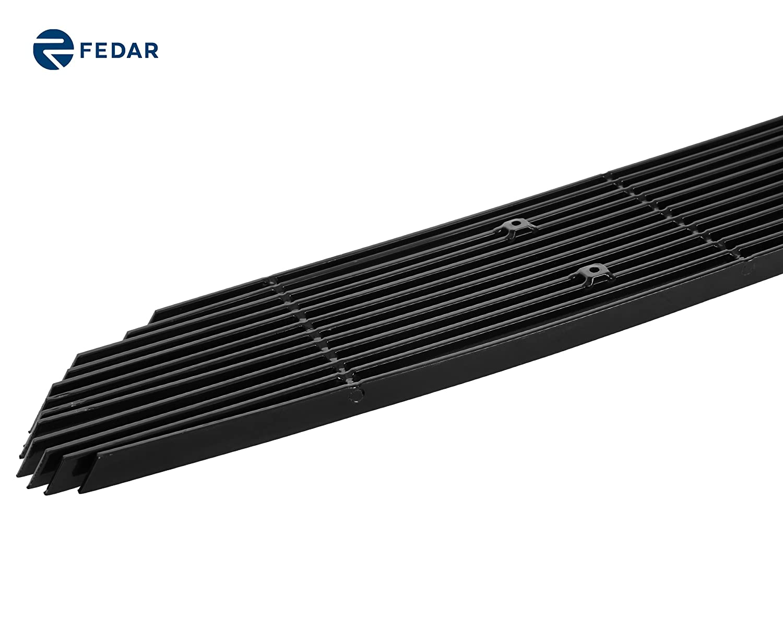 Aluminum Black Billet Grille Combo For 01-05 Ford Explorer Sport Trac