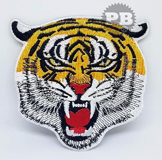 Parches bordados para planchar, diseño de gato y oso de miel Tiger ...