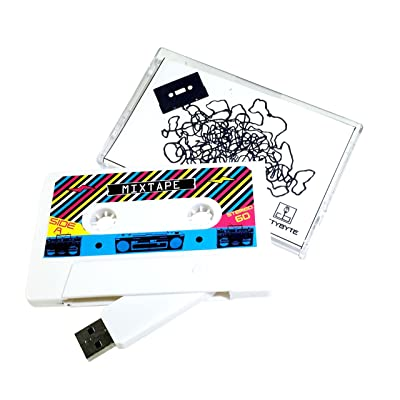 The Original MASHTAPE--Retro Mixtape Design, Cassette Tape USB Flash Drive 8GB