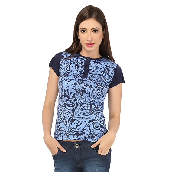 pick pocket Women's T Shirt(Blue): Amazon.in: Shoes & Handbags