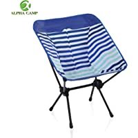 $26 » ALPHA CAMP Camping Chair Portable Ultralight Compact Folding Camping Backpack Chairs with…