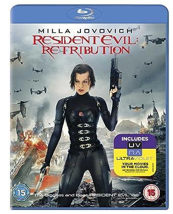 Resident Evil: Retribution [Reino Unido] [Blu-ray]: Amazon.es: Milla Jovovich, Michelle Rodriguez, Kevin Durand, Sienna Guillory, Shawn Roberts, Aryana Engineer, Colin Salmon, Johann Urb, Boris Kodjoe, Li Bingbing, Paul W.S. Anderson, Milla Jovovich,